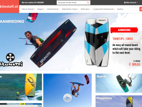Kitestuff voor kitesurf materiaal